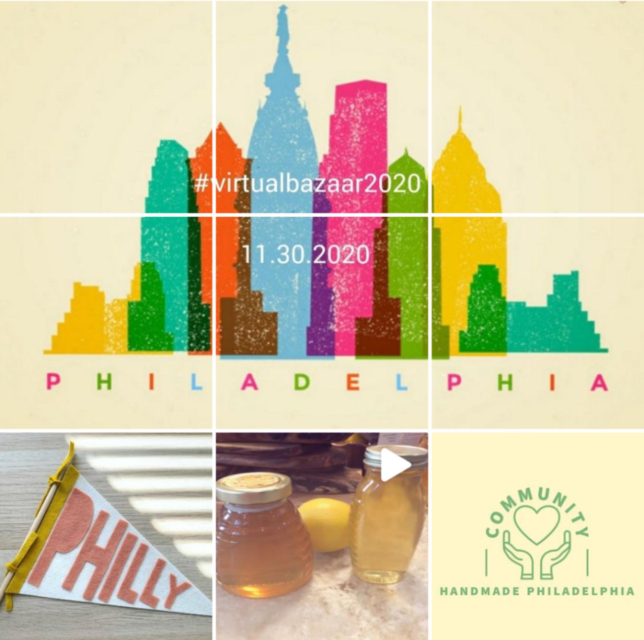 Handmade philadelphia virtual bazaar