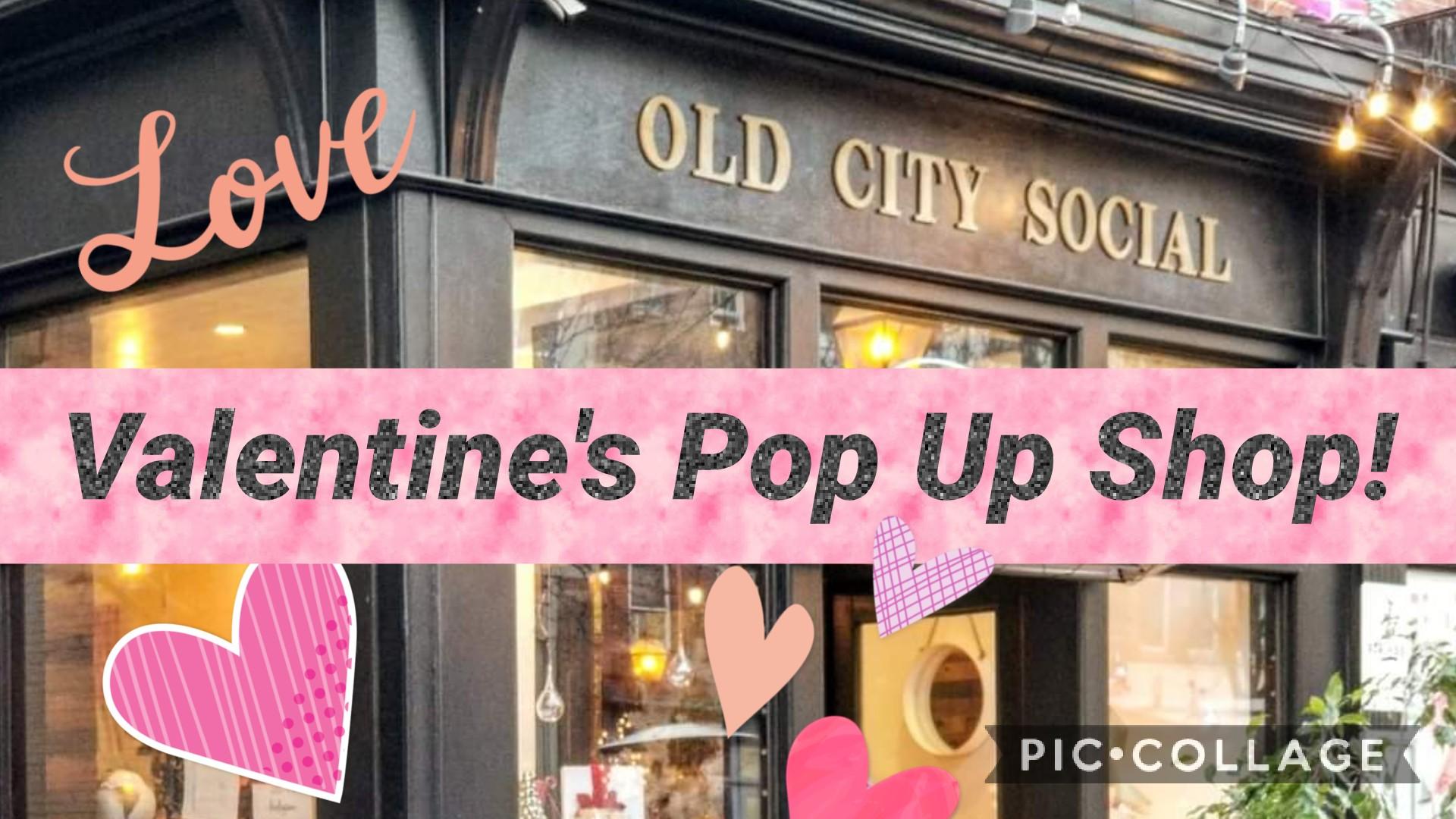 Valentines Day Pop Up shop Philadelphia